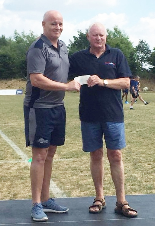 77f2f1a065b Sale Sharks Supporters Club have once again made a considerable donation to Sale  Sharks Academy to help fund this year s pre-season tour to North Yorkshire